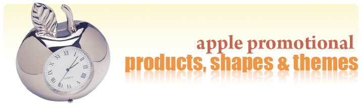 apple shaped promotional products