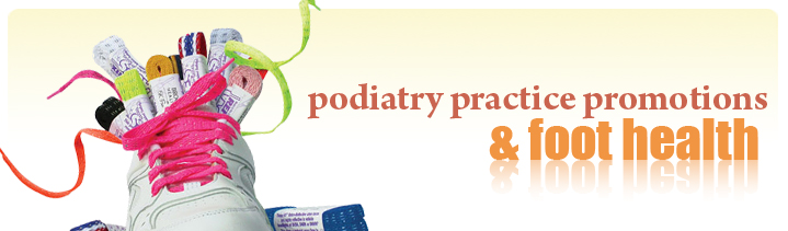 podiatry promotional products