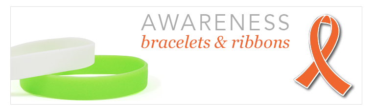 awareness bracelets and ribbons