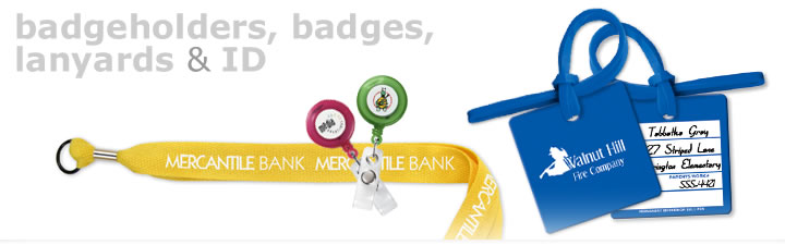 lanyards and badgeholders