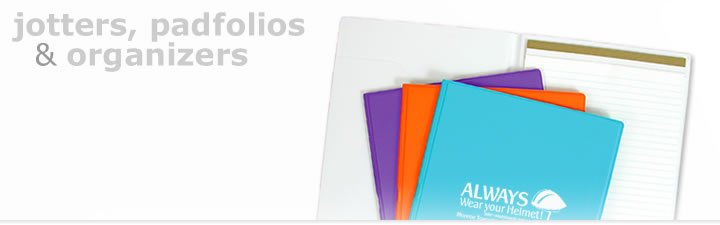 promotional padfolios and organizers