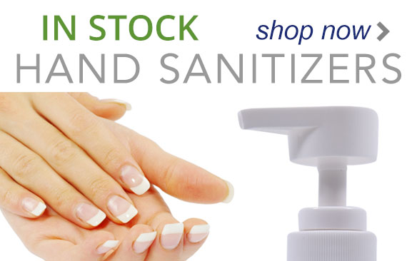 stock hand sanitizers