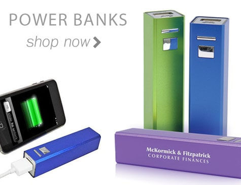custom power banks