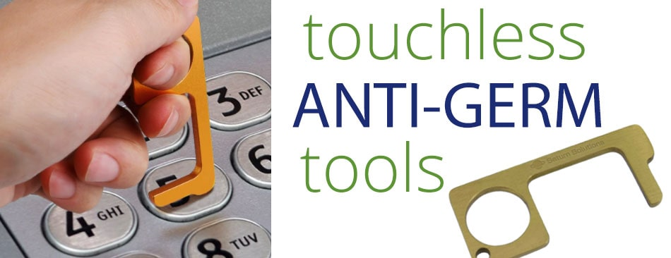 touchless anti germ tool