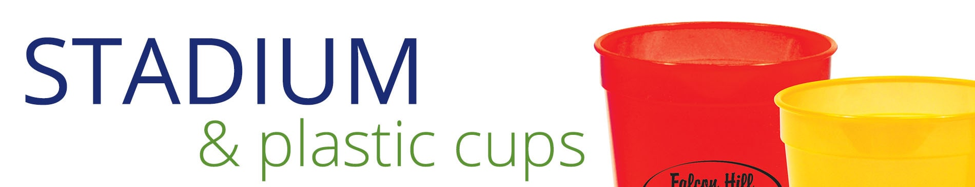 Stadium Cups & Plastic Cups
